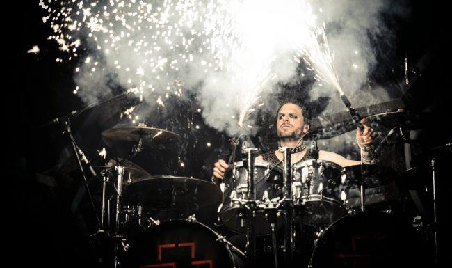 pyro-drumsticks